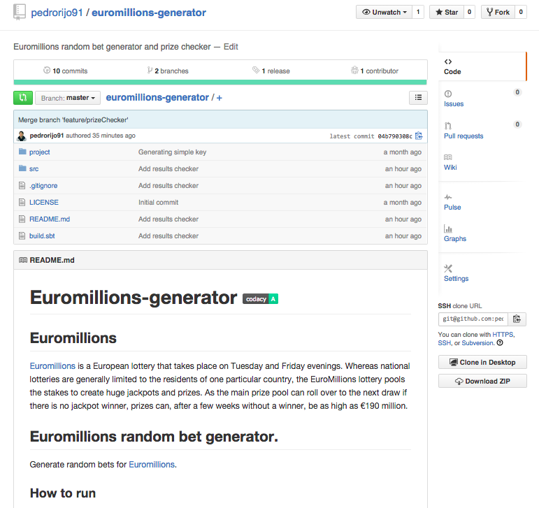 euromillions repository