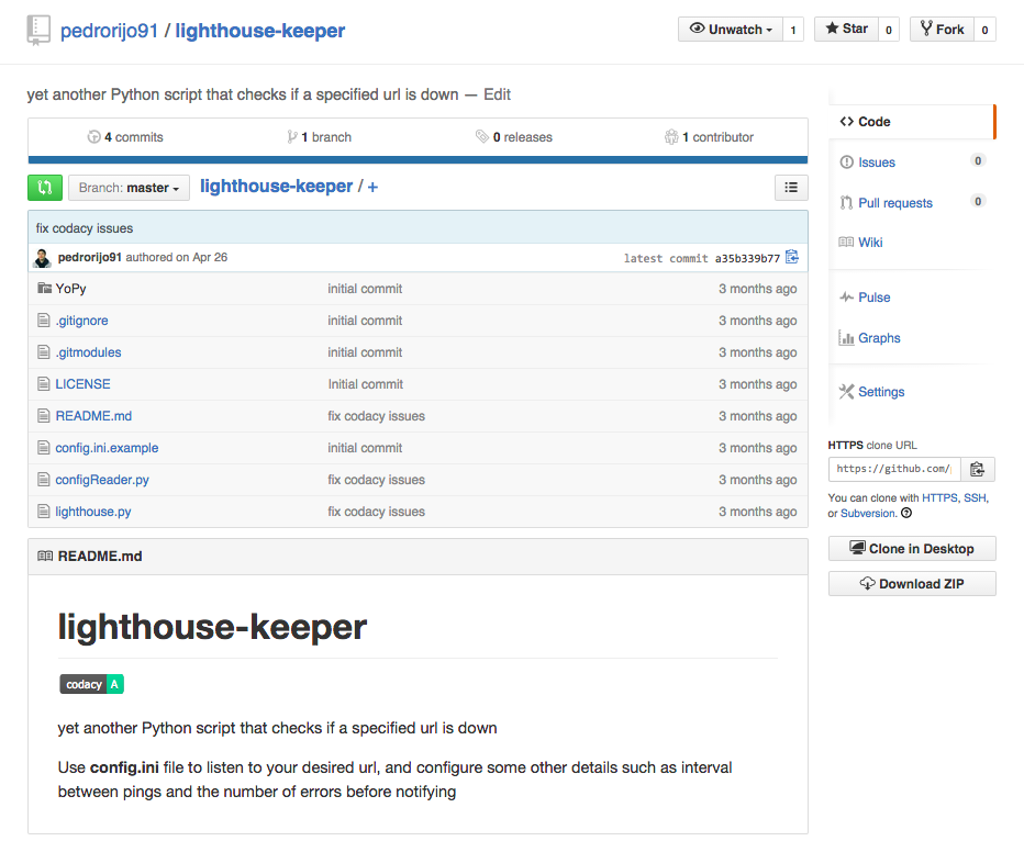 lighthouse-keeper repository
